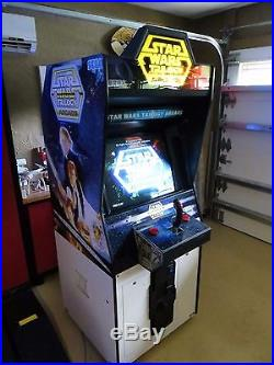 Star Wars Trilogy Arcade by Sega 1997. Game Plays Flawlessly, Looks Great