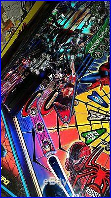 Stern Black Spiderman Limited LE pinball machine HUO full LEDs arcade game