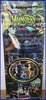 Stern Pinball Army Munsters Banner