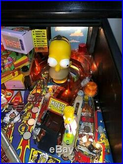 Stern Simpsons Pinball Party Leds Super Nice Looks Fantastic
