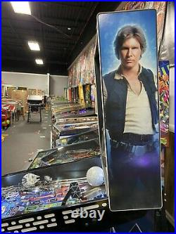 Stern Star Wars Limited Edition Le Pinball Machine Gorgeous Only 800 Made