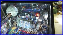 Stern Star Wars limited edition LE Pinball machine HUO less than 50 plays