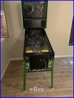 Stern The Munsters Pro Pinball Machine With Mods