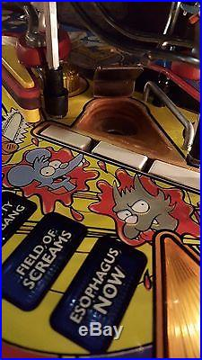 Stern The Simpsons Pinball Party Home Use Only! Beautiful Condition