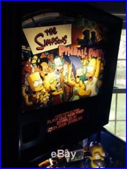 Stern The Simpsons Pinball Party Pinball Machine One Of Best Of All Time