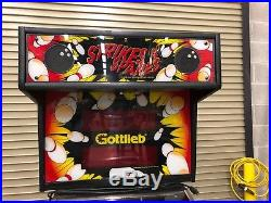 Strikes and Spares Pinball bowling machine made by Gottlieb
