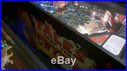 TALES FROM THE CRYPT Pinball Machine Data East 1993 So Fun it's SCARY