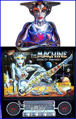THE MACHINE BRIDE ON PINBOT JACK BOT AND PIN BOT TOPPER