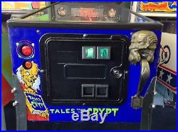 Tales From The Crypt Pinball Machine by Data East-FREE SHIPPING
