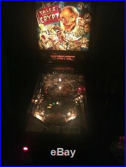 Tales From The Crypt Pinball Machine by Data East RARE FIND