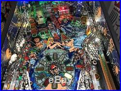 Tales from the Crypt Data East Pinball Machine. CUSTOM TOPPER LEDS MODS GALORE