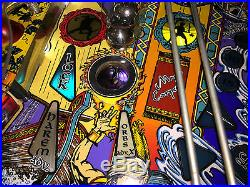 Tales of the Arabian Nights Pinball Machine shopped working chicago area pick up