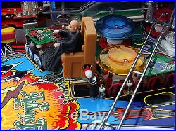 The Addams Family Pinball Machine Deluxe Restored New IPB Playfield! A+++