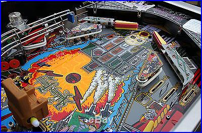 The Addams Family Pinball Machine. Supreme Restoration! Clearcoated A+++