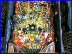 The Lord Of The Rings Pinball Machine. Stern. South Florida