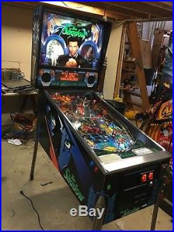 The Shadow Pinball Machine With Updated LED Kit Nice