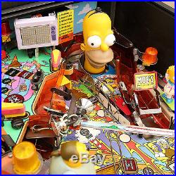 The Simpsons Party Pinball Machine! Stern 2003 Nice A++++