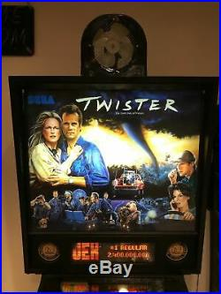 Twister Pinball Home Use Only Collector's Condition