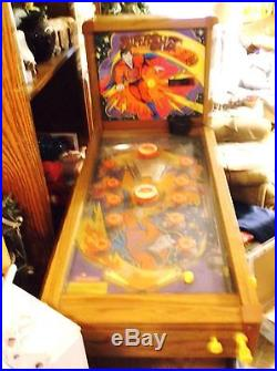 VINTAGE 1978 Coleco SUPERSHOT ELECTRIC PINBALL MACHINE! EXTREMELY RARE! Works