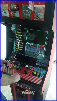 Video Game Neo Geo Multi Game Standup Arcade Machine 138 in 1 Fun For All Ages