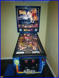 Vintage Back to the Future Pinball Machine, Great Working Condition LTD to 3,000