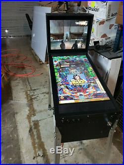 Virtual pinball machine, pinup popper front end, old school theme