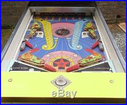 WILLIAMS VERY RARE PLANETS 2 PLAYERWIDE BODY COIN OP PINBALL ARCADE MACHINE