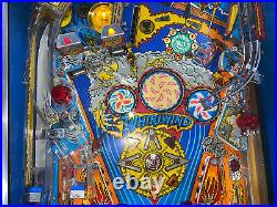 Whirlwind Pinball Machine Williams 1990 Coin Op LEDs Free Ship