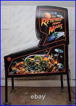 Williams Revenge From Mars Pinball Machine Home Use Only Since 2002
