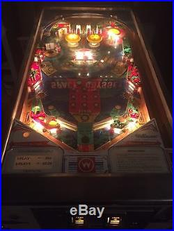 Williams Space Odyssey Pinball Machine In Working Condition
